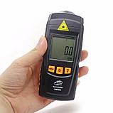 Безконтактний лазерний тахометр BENETECH GM8905 (50-500 мм) (2.5-99999RPM) з запам'ятовуванням MAX, MIN, LAST, AVG, фото 2