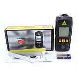Безконтактний лазерний тахометр BENETECH GM8905 (50-500 мм) (2.5-99999RPM) з запам'ятовуванням MAX, MIN, LAST, AVG, фото 8