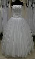 Свадебное платье Е-03 (эконом вариант) 2300 грн (РАСПРОДАЖА)