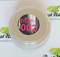 Зеркальная втирка Nice №002 ,1 грамма(серебро).
