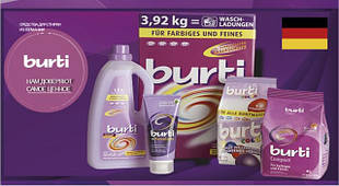Cредства для стирки TM BURTI