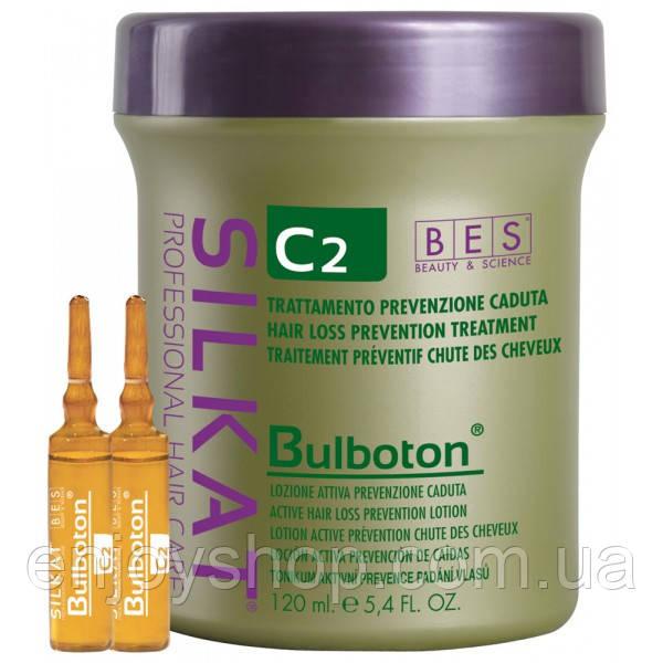 Лосьон от выпадения волос C2 Silkat Bulboton BES