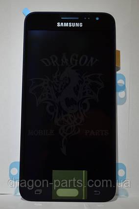 Дисплей Samsung J320 Galaxy J3 с сенсором Черный Black оригинал , GH97-18414C, фото 2
