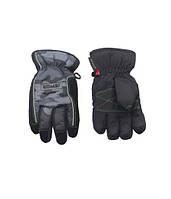 Перчатки Kombi STRIKE JR черно-серые