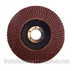 Диск лепестковый плоский WERK 125х22.2 мм (зернистость 36)