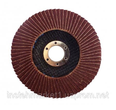Диск лепестковый плоский WERK 125х22.2 мм (зернистость 40), фото 2