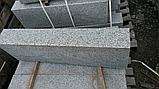 Садовый бордюр из серого гранита , фото 4