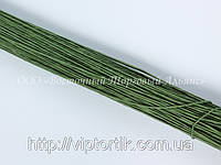 Стебельки для цветов — Зелёные (№20) - Ø0,7 мм - L25 см - 200 шт.