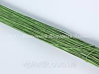 Стебельки для цветов — Светло-зелёные (№28) - Ø0,35 мм - L25 см - 200 шт.