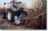 Лесной мульчер UML/ST  с ротором с фиксированными резцами для тракторов от 50 до 110 л.с.