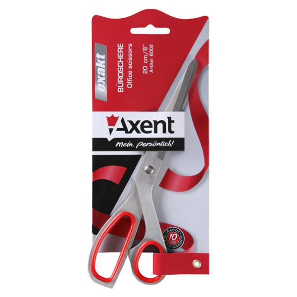 """Ножницы """"Axent"""" Exakt 20см 6002 красные"""