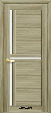 Двери межкомнатные Тринити стекло сатин экошпон