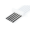 Бутилкаучуковый шнур LB/S Ø8 мм, чёрный (отрез 2,5 м.п.)