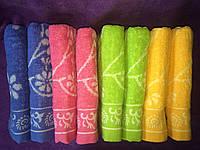Цветочная радуга 8 шт в уп. 50х90 лицевое полотенце
