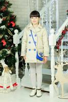 Пальто демисезон из плащевки для девочек