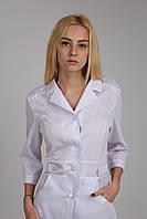 Приталенный медицинский халат, фото 1