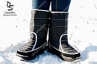 Женские дутики Аляска черные ( Код : ТМ-102)