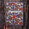 Обложка на паспорт «Совы на листьях» kbp-14