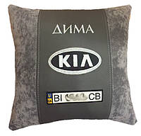 Подушка автомобильная с логотипом KIA киа