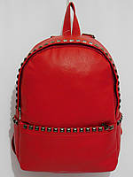 Рюкзак кож.зам пиксель красный, фото 1