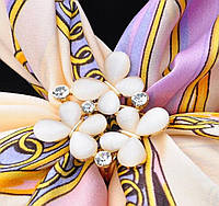 Кольцо - брошь для платков