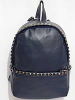Рюкзак кож.зам пиксель темно-синий, фото 1