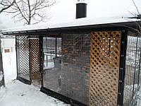 Прозрачные ПВХ шторы (Ахиллес, Япония) для беседки