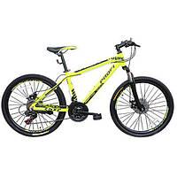 """Велосипед 26"""" Profi G26 Young A26.1M Салатовый"""