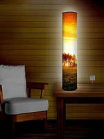 """Дизайнерский торшер-светильник 105 см """"Рассветное небо"""""""