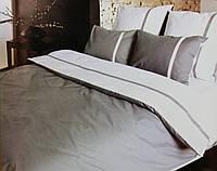 Комплект постельного белья Дуэт серый