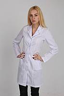Медицинский халат длинный рукав