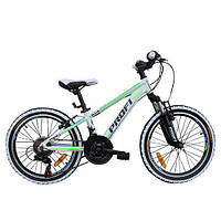"""Велосипед Profi 20"""" G20A315-L-3W Бело-салатовый"""