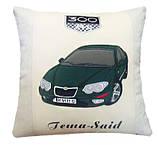Автомобильная Подушка сувенирная с вышивкой силуэта вашего авто, фото 9