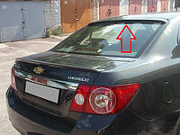 Спойлер заднего стекла ( козырек, блегда) Chevrolet Epica 2006-2012 г.в. Шевролет Епика