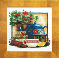 Набор для вышивания  Чай+клубника