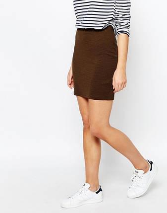 Текстурная мини юбка New Look, фото 2