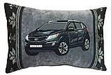 Автоподушка-подарок сувенир с силуэтом Вашего авто в машину, фото 3