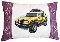 Подушка-подарок сувенир с силуэтом Вашего авто в машину