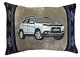 Автоподушка-подарок сувенир с силуэтом Вашего авто в машину, фото 8