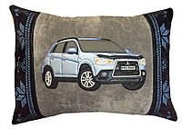 Автоподушка-подарок сувенир с силуэтом Вашего авто в машину
