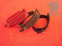 Шкіряний браслет «Natty» кожаный браслет, під замовлення, різних кольорів