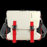 Сумка для ноутбука 15,6 Crown CCH-3315WR серия Harmony белый с красным