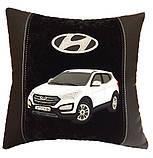 Подушка автомобильная сувенир в машину с изображением Вашего авто WV, фото 2