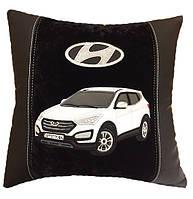 Подушка автомобильная в машину с изображением Вашего авто хюндай