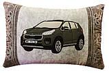 Подушка автомобильная сувенир в машину с изображением Вашего авто WV, фото 9