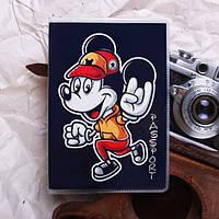 Обложка на паспорт «Микки Маус» kbp-18