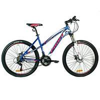 "Велосипед 26"" Profi G26 Keen A26.1 Бело-синий"
