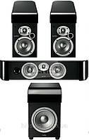 Комплект акустики Infinity C205BK + C205BK + CC225BK + PSW8BK комплект 5.1