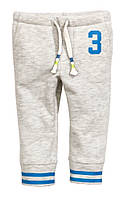 Детские штаны для мальчика H&M на 6-9 мес,9-12 мес