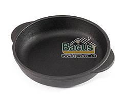 Сковорода чугунная порционная 140х30мм, посуда чугунная Эколит (Украина) 1430БР